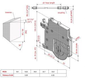 Uchwyt pneumatyczny Q-68