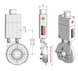Uchwyt pneumatyczny QHP-48C